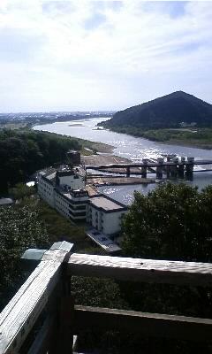 国宝犬山城