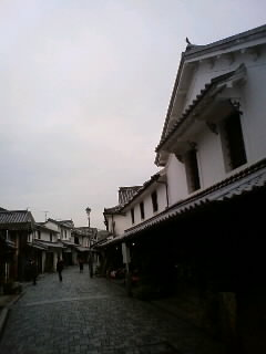 白壁の町、柳井
