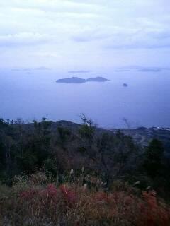 銭壺山からの眺め